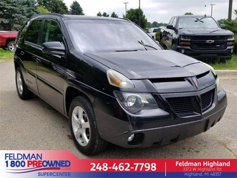 2003 Pontiac Aztek for sale in Highland, MI