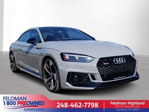 2019 Audi RS 5 for sale in Highland, MI