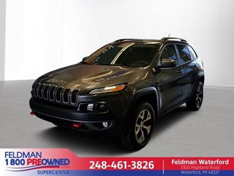2015 Jeep Cherokee for sale in Highland, MI