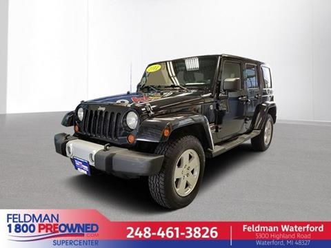 2011 Jeep Wrangler Unlimited for sale in Highland, MI