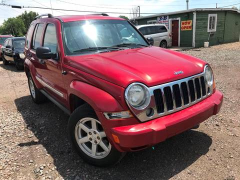 2007 Jeep Liberty for sale at 3-B Auto Sales in Aurora CO