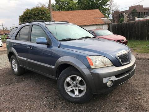 2005 Kia Sorento for sale at 3-B Auto Sales in Aurora CO