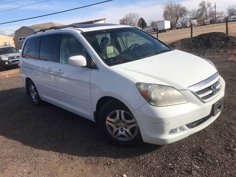 2006 Honda Odyssey for sale at 3-B Auto Sales in Aurora CO