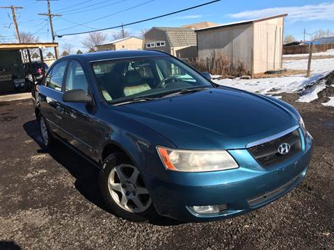 2006 Hyundai Sonata for sale at 3-B Auto Sales in Aurora CO