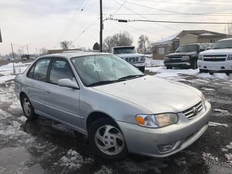 2001 Toyota Corolla for sale at 3-B Auto Sales in Aurora CO