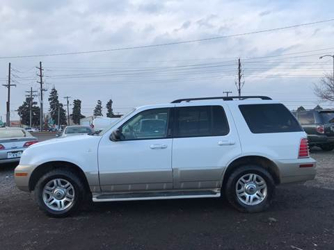 2004 Mercury Mountaineer for sale at 3-B Auto Sales in Aurora CO