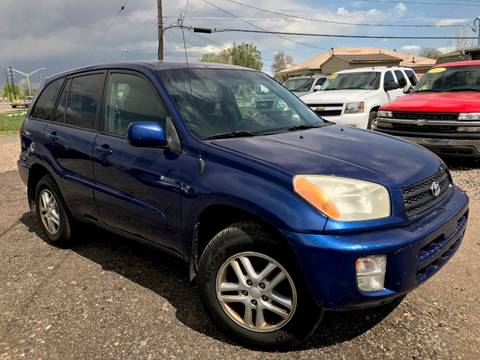 2002 Toyota RAV4 for sale at 3-B Auto Sales in Aurora CO