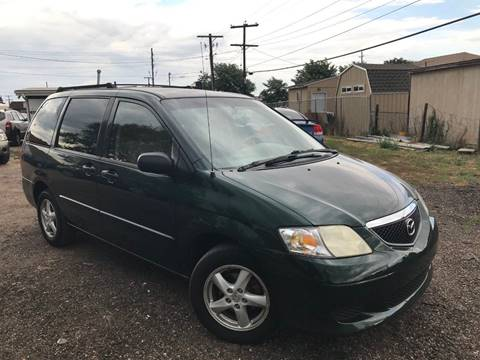 2003 Mazda MPV for sale at 3-B Auto Sales in Aurora CO