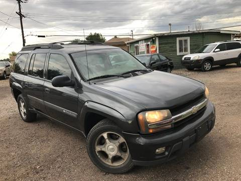 2004 Chevrolet TrailBlazer EXT for sale at 3-B Auto Sales in Aurora CO