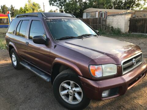 2003 Nissan Pathfinder for sale at 3-B Auto Sales in Aurora CO