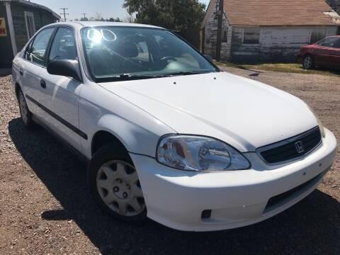2000 Honda Civic for sale at 3-B Auto Sales in Aurora CO