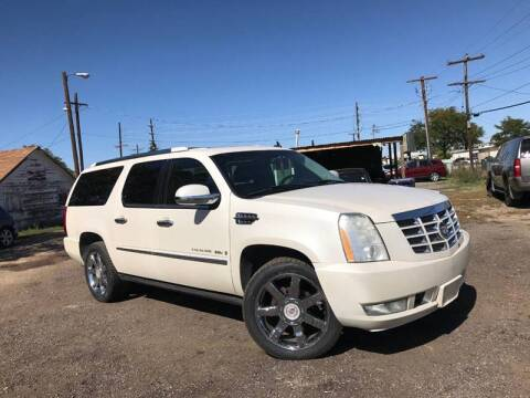 2007 Cadillac Escalade ESV for sale at 3-B Auto Sales in Aurora CO