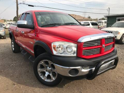 2008 Dodge Ram Pickup 1500 for sale at 3-B Auto Sales in Aurora CO