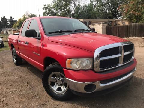 2004 Dodge Ram Pickup 1500 for sale at 3-B Auto Sales in Aurora CO