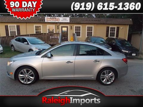 2013 Chevrolet Cruze for sale at Raleigh Imports in Raleigh NC
