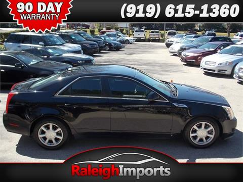 2008 Cadillac CTS for sale at Raleigh Imports in Raleigh NC