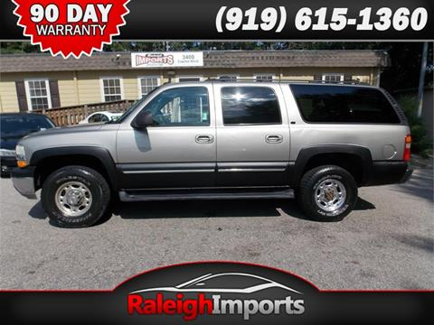 2003 Chevrolet Suburban for sale at Raleigh Imports in Raleigh NC