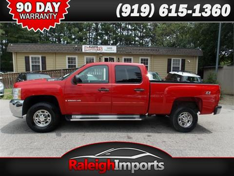 2008 Chevrolet Silverado 2500HD for sale at Raleigh Imports in Raleigh NC