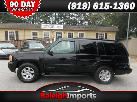 1999 GMC Yukon for sale in Raleigh, NC