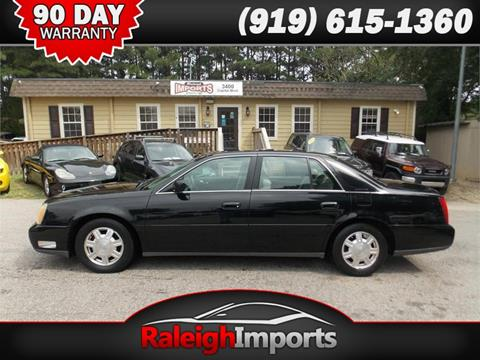 2004 Cadillac DeVille for sale at Raleigh Imports in Raleigh NC