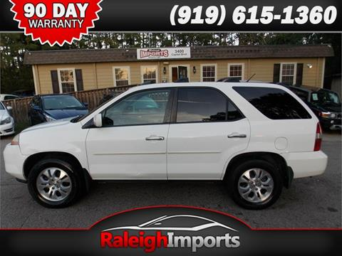 2003 Acura MDX for sale at Raleigh Imports in Raleigh NC