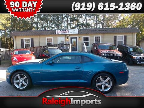 2010 Chevrolet Camaro for sale at Raleigh Imports in Raleigh NC