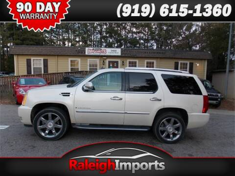 2007 Cadillac Escalade for sale at Raleigh Imports in Raleigh NC