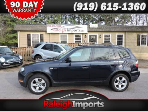 2007 BMW X3 for sale at Raleigh Imports in Raleigh NC
