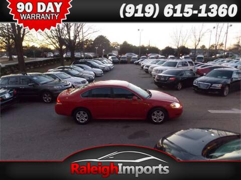 2010 Chevrolet Impala for sale at Raleigh Imports in Raleigh NC