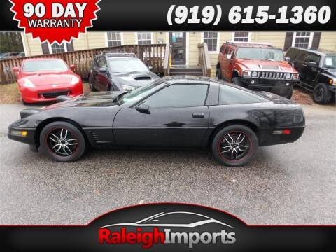 1995 Chevrolet Corvette for sale at Raleigh Imports in Raleigh NC