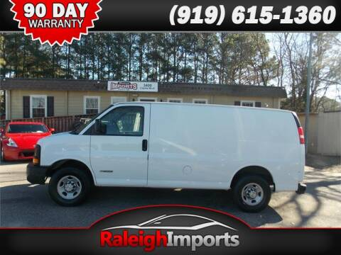 2005 Chevrolet Express Cargo for sale at Raleigh Imports in Raleigh NC