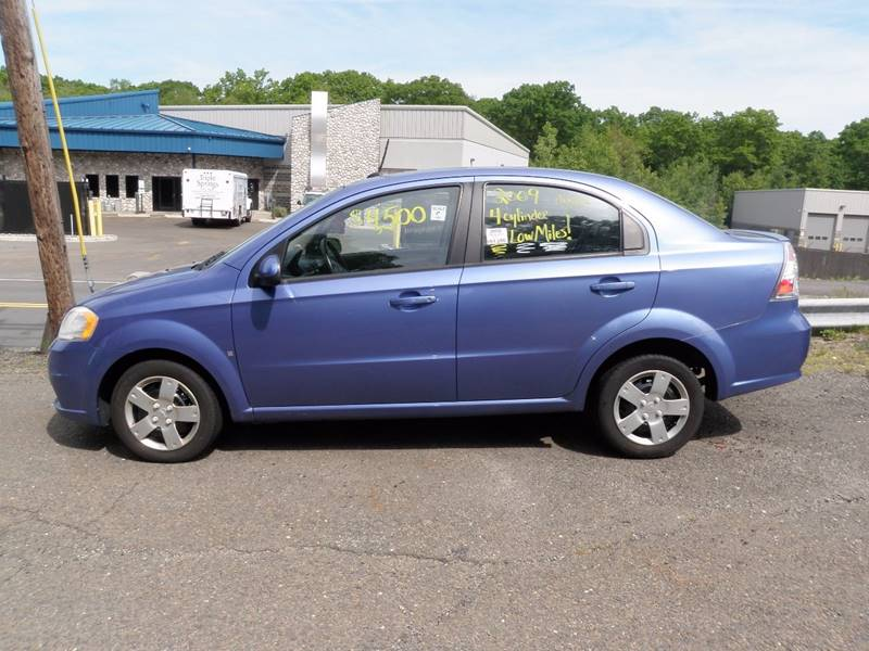 2009 Chevrolet Aveo for sale at Wolcott Auto Exchange in Wolcott CT