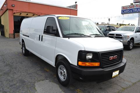 2d303e7e1b 2013 GMC Savana Cargo for sale in Citrus Heights