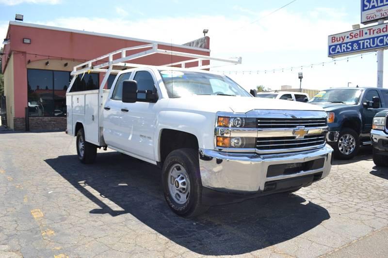 2015 Chevrolet Silverado 2500hd 4x4 Work Truck 4dr Double
