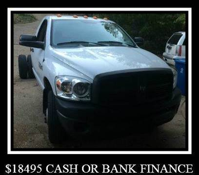 2007 Dodge Ram Chassis 3500