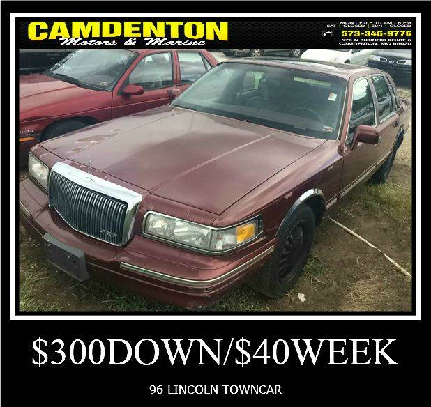 1996 Lincoln Town Car Cartier 4dr Sedan In Camdenton Mo Camdenton