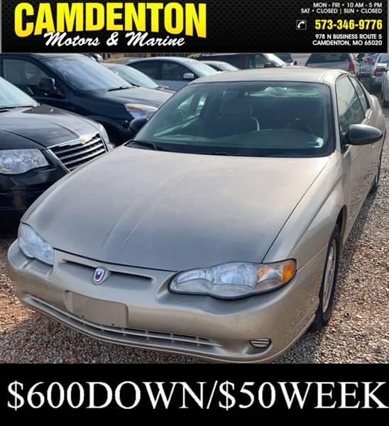 2005 Chevrolet Monte Carlo LS 2dr Coupe - Camdenton MO