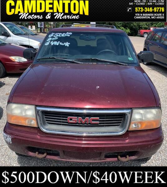 2000 GMC Envoy 4dr 4WD SUV - Camdenton MO