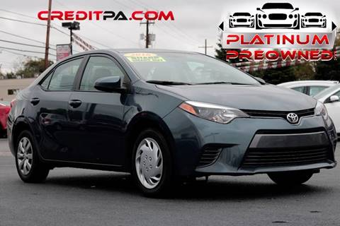 2016 Toyota Corolla for sale in Carlisle, PA