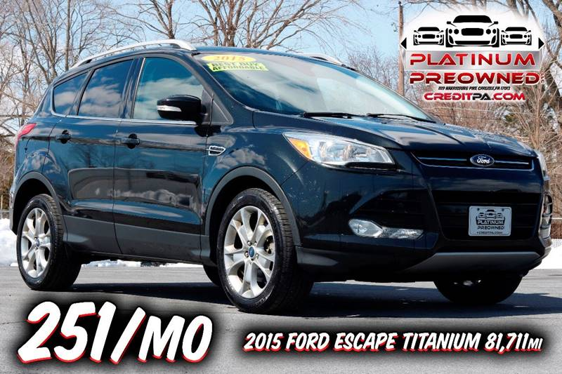ecoboost view ford titanium review platinum reviews escape rear