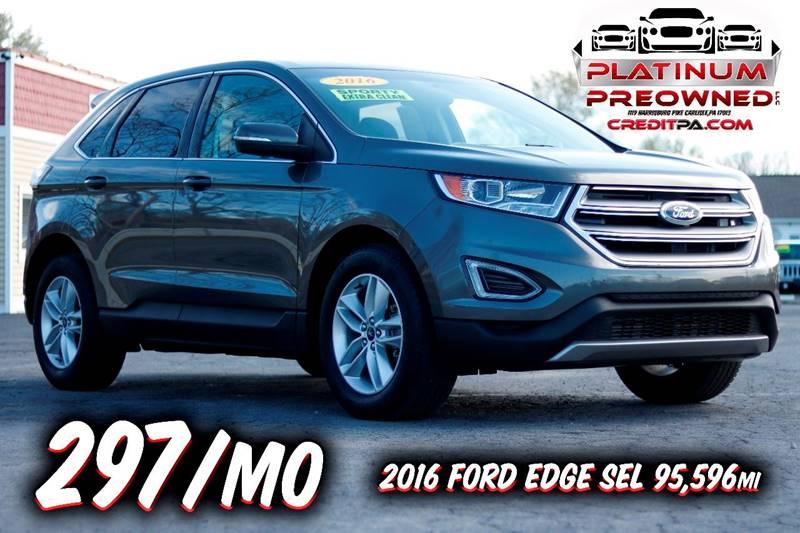 Ford Edge Sel Dr Crossover Carlisle Pa