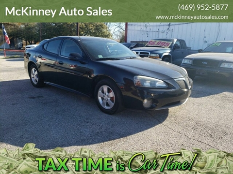2007 Pontiac Grand Prix for sale in Mckinney, TX