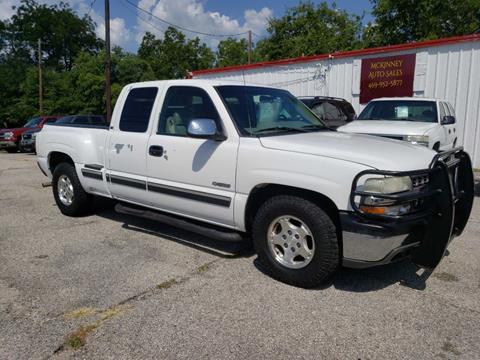 Chevrolet Silverado 1500 For Sale In Mckinney Tx Mckinney