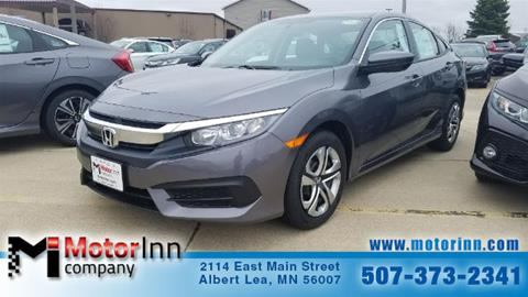 2017 Honda Civic for sale in Albert Lea MN