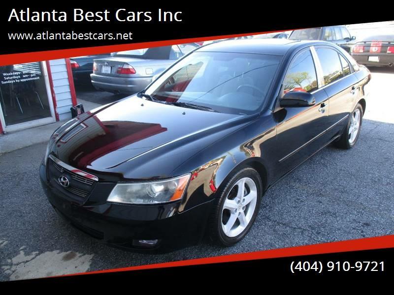 2006 Hyundai Sonata Gls V6 In Mableton Ga Atlanta Best Cars Inc