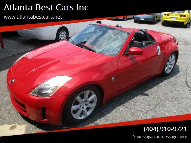 2004 Nissan 350Z For Sale At Atlanta Best Cars Inc In Mableton GA