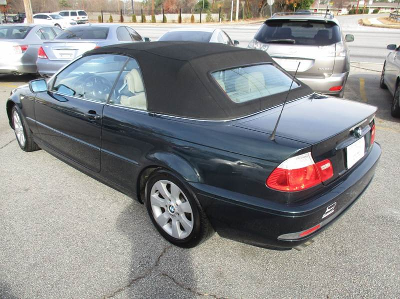 Bmw Series Ci Dr Convertible In Mableton GA Atlanta - 2006 bmw 325ci convertible