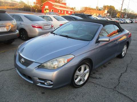 2007 Toyota Camry Solara for sale in Mableton, GA