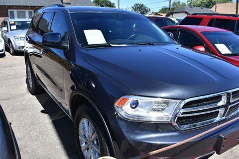 2014 Dodge Durango for sale at Altitude Auto Sales in Denver CO