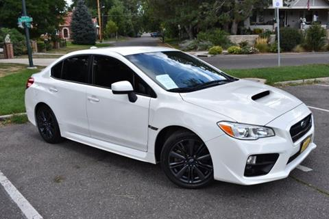 2015 Subaru WRX for sale at Altitude Auto Sales in Denver CO